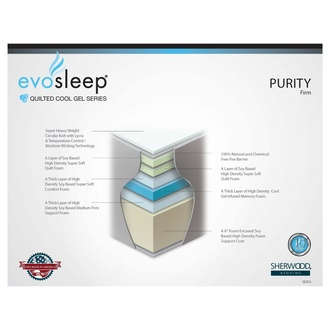 EvoSleep Purity Visco Firm