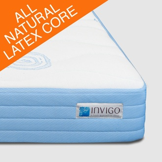 "Invigo Invigo 10"" All Latex Bliss Mattress Plush"