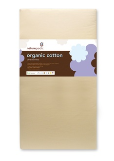 Naturepedic Ultra 252 Seamless Organic Cotton Crib (MC41)