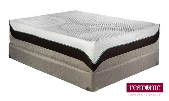 Restonic healthrest latex mattresses