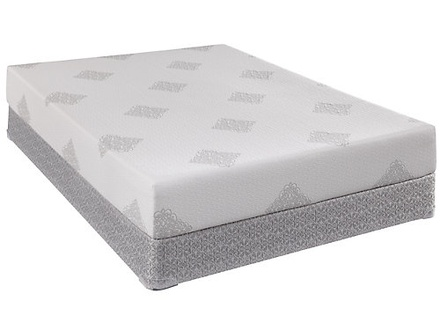 Sealy Comfort Series Gel Memory Foam Coral Bay