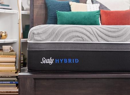 sealy hybrid kelburn firm mattress reviews. Black Bedroom Furniture Sets. Home Design Ideas