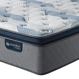 Serta iComfort Hybrid Blue Fusion 300 Plush Pillowtop