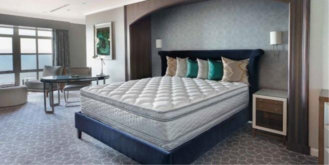 Serta Perfect Sleeper Hotel Sapphire Suite Ii Euro Top