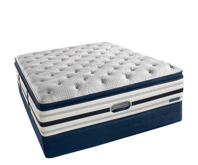 Simmons Beautyrest Recharge World Class Shakespeare Luxury Firm Super Pillow Top