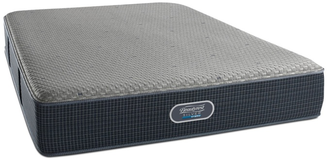 Simmons Beautyrest Silver Hybrid The Gulf Shores Luxury Firm