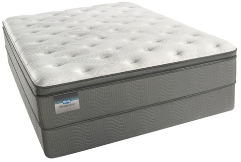 Simmons BeautySleep Half Moon Crest Luxury Firm Pillowtop