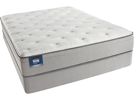 Simmons BeautySleep Sparkle Sky Plush Euro Top