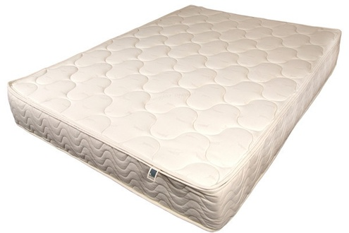 Spindle Natural Latex Mattress - Overhead View