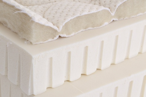 Spindle Natural Latex Mattress - Materials