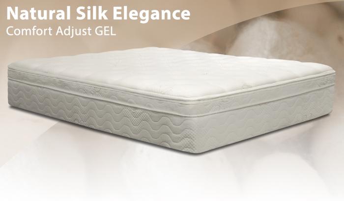 BedInABox Natural Silk Elegance fort Adjust Gel