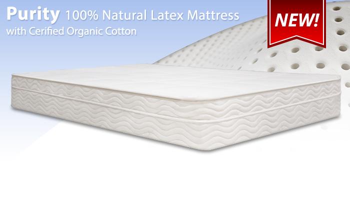 Restonic Latex Mattress Reviews BedInABox Naturals Purity Latex - Mattress Reviews - GoodBed.com