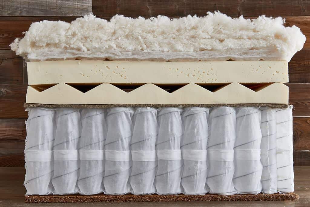 Brentwood Home Cedar Mattress Layers