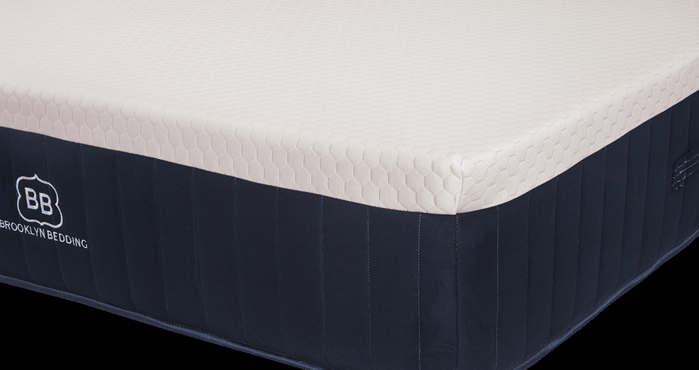 Brooklyn bedding aurora firm mattress reviews goodbedcom for Brooklyn bedding soft review