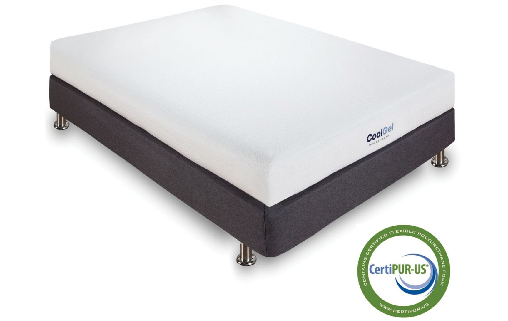 Classic Brands 8 Gel Memory Foam Mattress Reviews