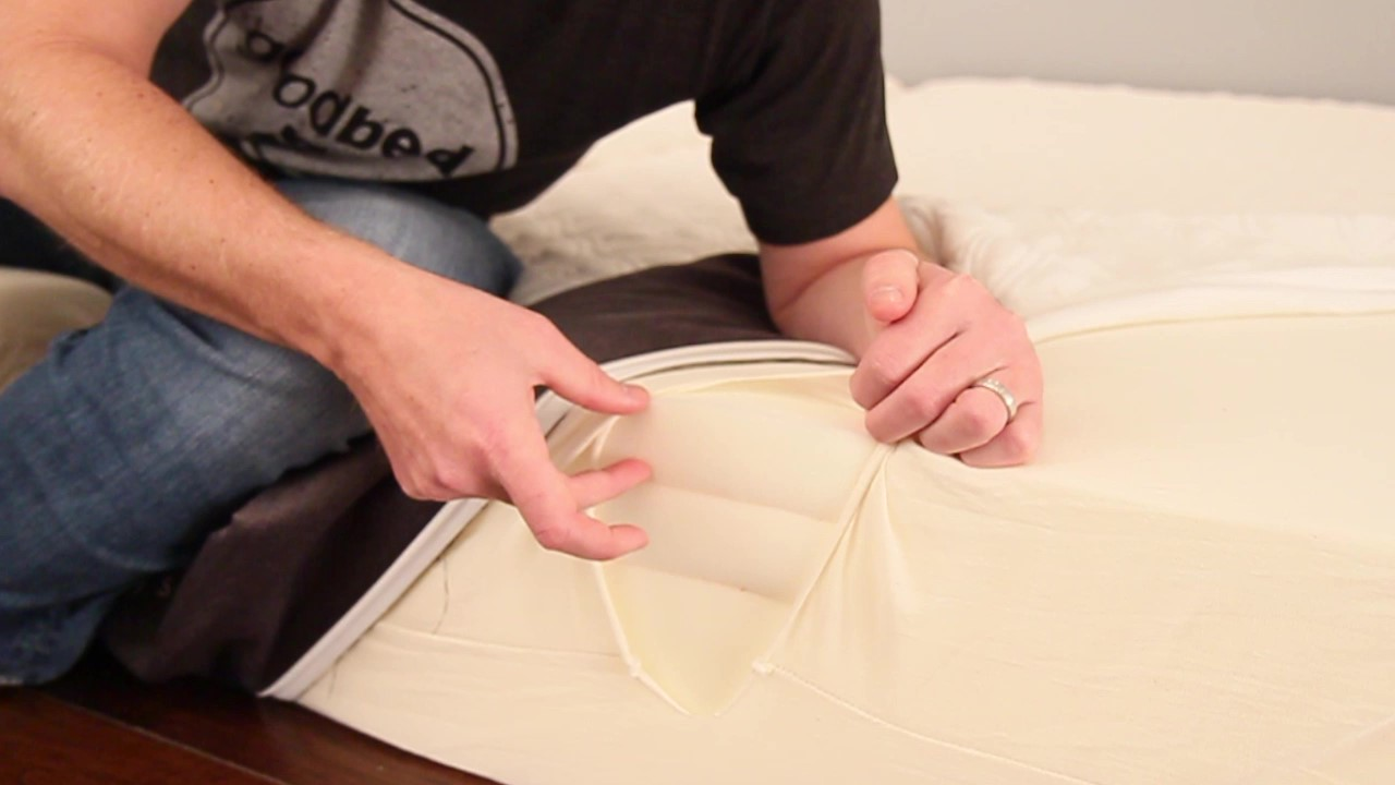 Cocoon Mattress by Sealy Foam Layers