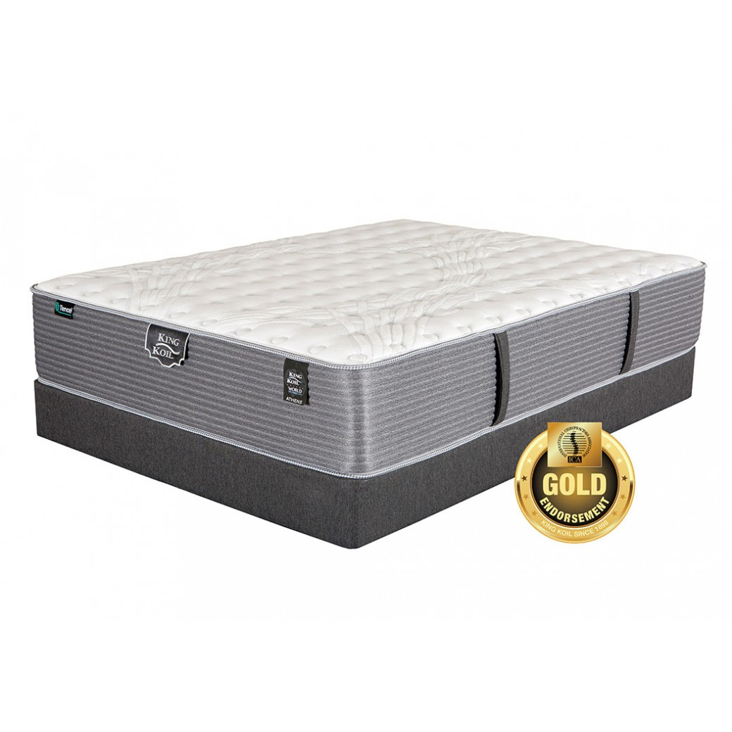 King Koil World Extended Life Athens Extra Firm Mattress