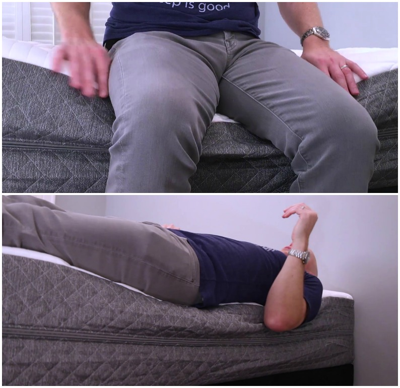 GhostBed Luxe Mattress Edge Support