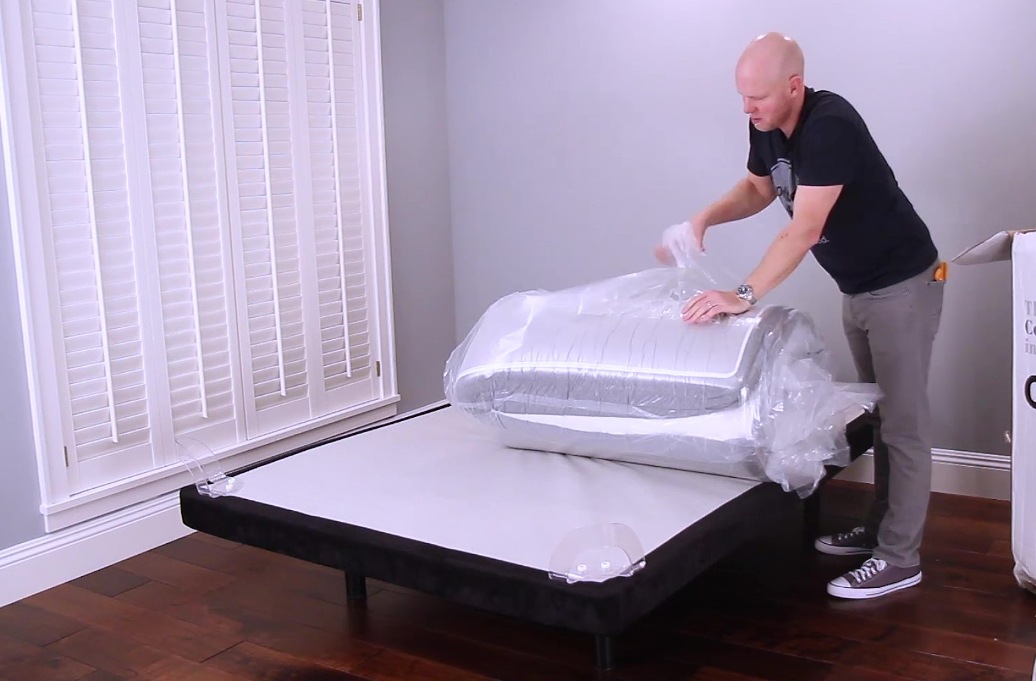 GhostBed Luxe Mattress Unboxing