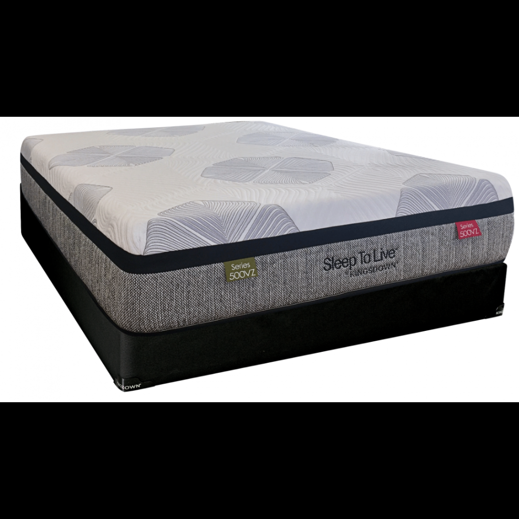 kingsdown 500vz blue medium firm mattress reviews. Black Bedroom Furniture Sets. Home Design Ideas