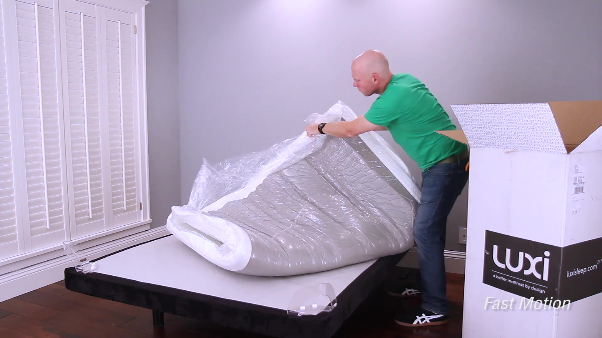 Luxi One Mattress Unboxing