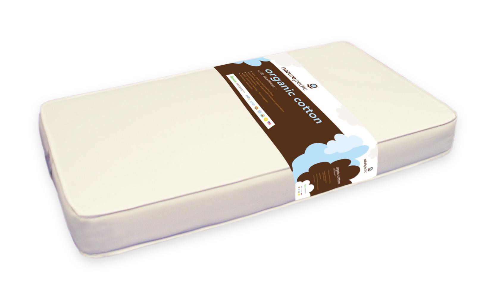 naturepedic classic 150 organic cotton crib mc20