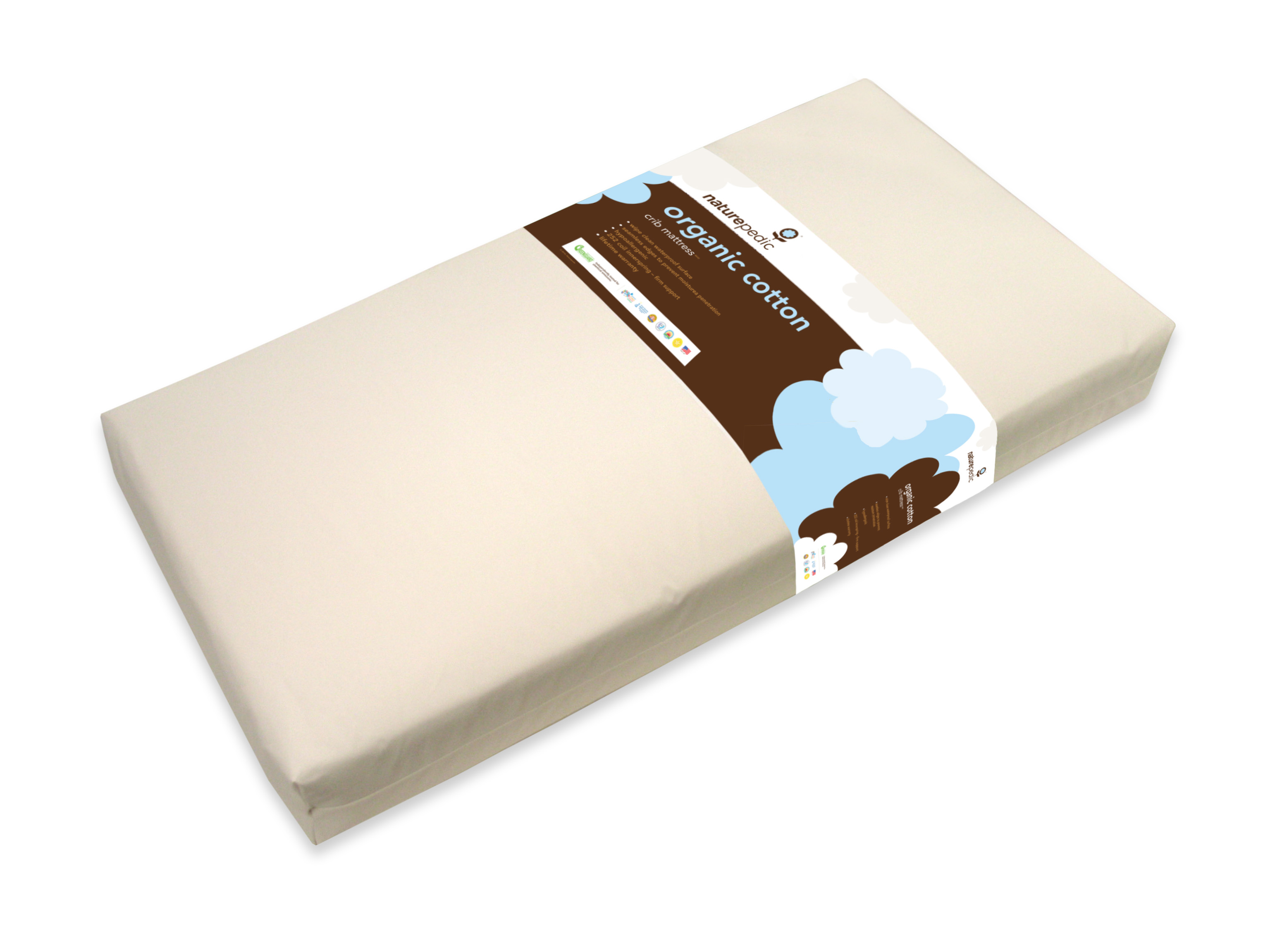 Naturepedic Classic Seamless Lightweight Organic Cotton