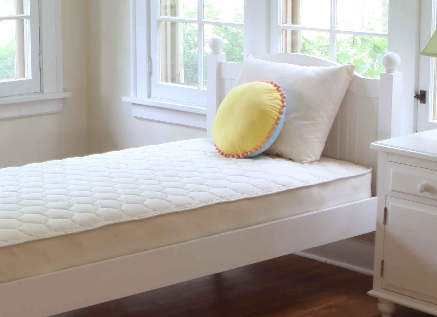 Naturepedic Organic Cotton Quilted Deluxe Mattress Reviews Goodbed Com