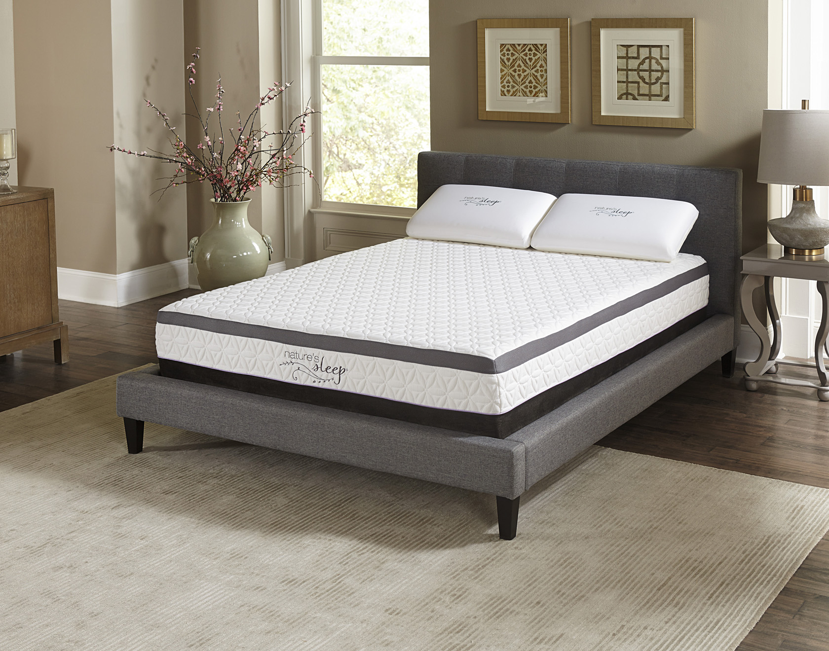 Nature S Sleep 12 5 Quot Crystal Mattress Reviews Goodbed Com