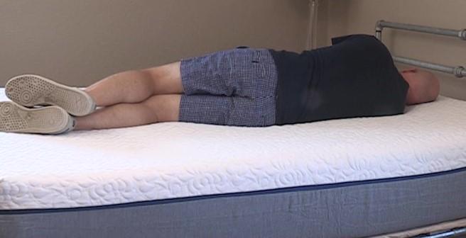 Novosbed Mattress Side Sleeping