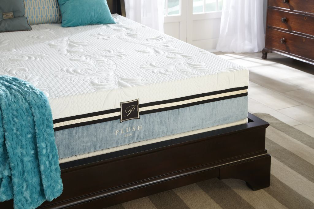 Plush Beds Memory Foam Reviews Cool Bliss