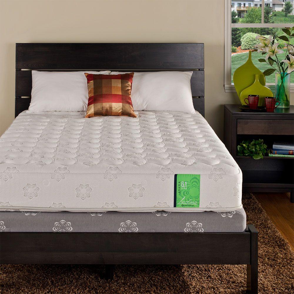 pranasleep lotus asana 6 1 firm mattress reviews goodbed com