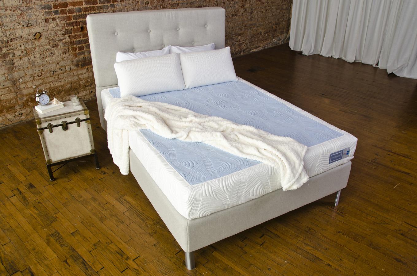 pure latexbliss pamper mattress reviews goodbed com