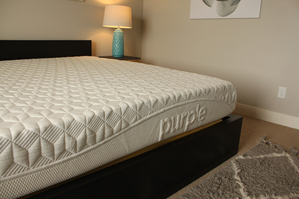 Purple bed mattress reviews goodbed com