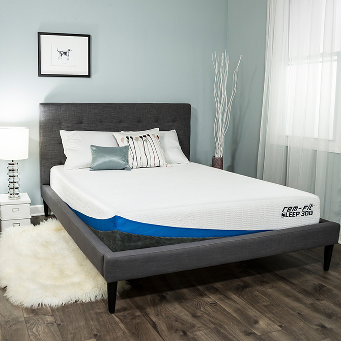 Rem Fit Sleep 300 10 Inch Cooling Gel Memory Foam Mattress Reviews