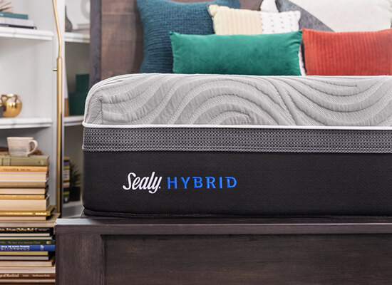 Sealy Hybrid Kelburn Firm Mattress Reviews Goodbed Com