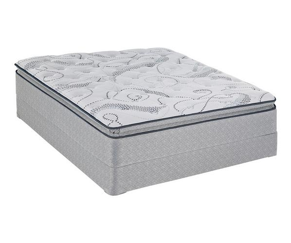 Sealy Poplar Springs Plush Euro Pillow Top Mattress