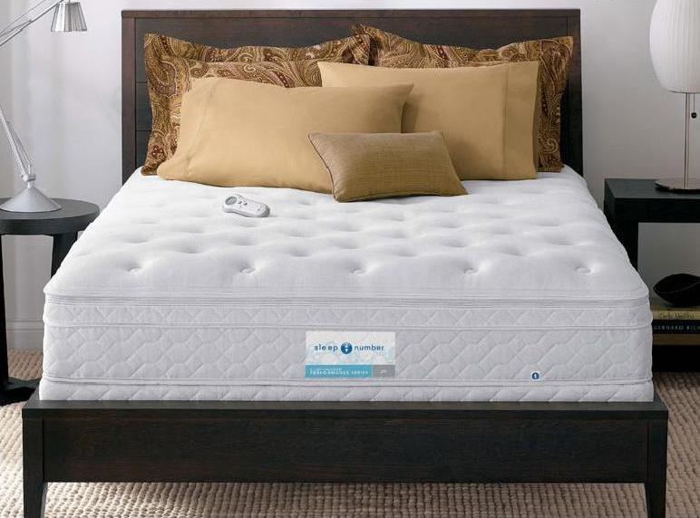 Mattress picture sleep number performance p6 bed for Sleep by number mattress