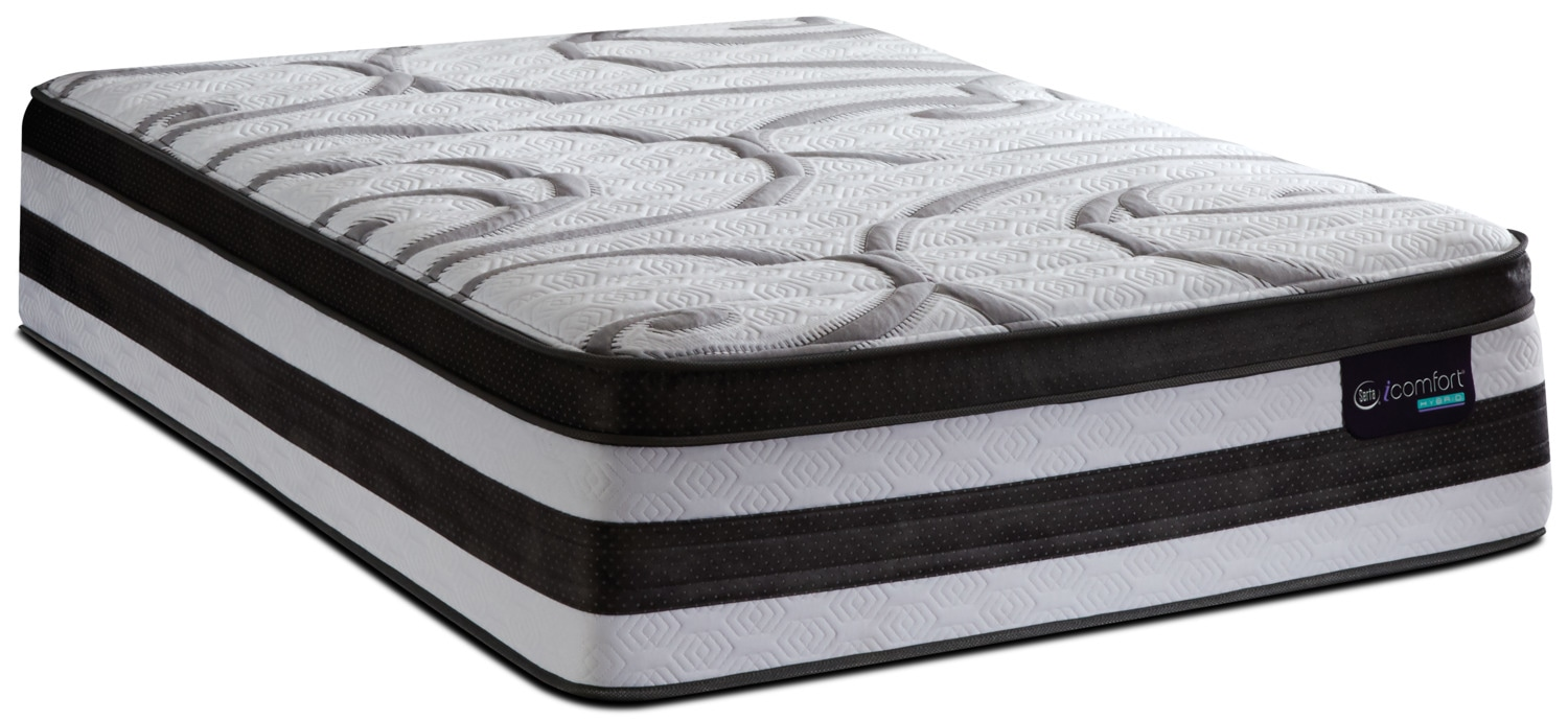 Serta Icomfort Hybrid Antigona Plush Euro Top Mattress Reviews Goodbed