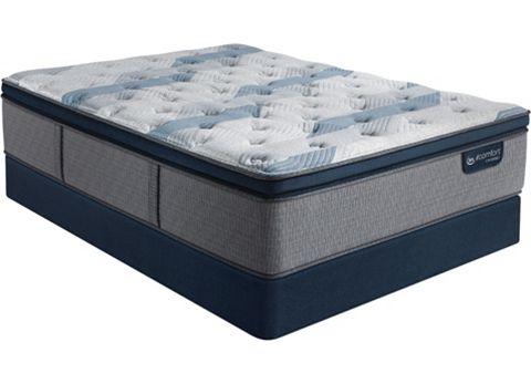 Serta Icomfort Hybrid Blue Fusion 300 Plush Pillowtop Mattress Reviews Goodbed