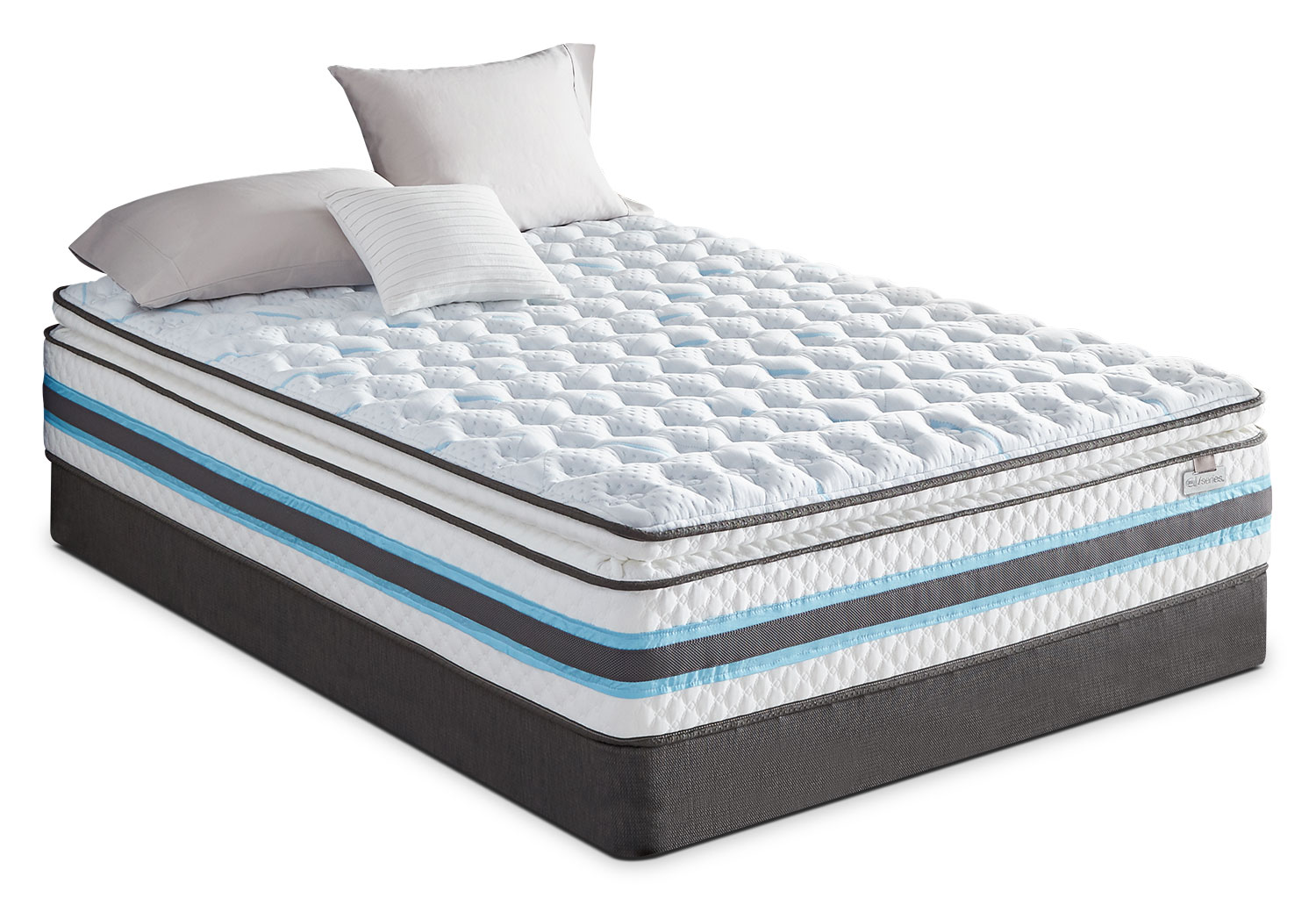 Serta Iseries Breathtaking Firm Pillowtop Mattress