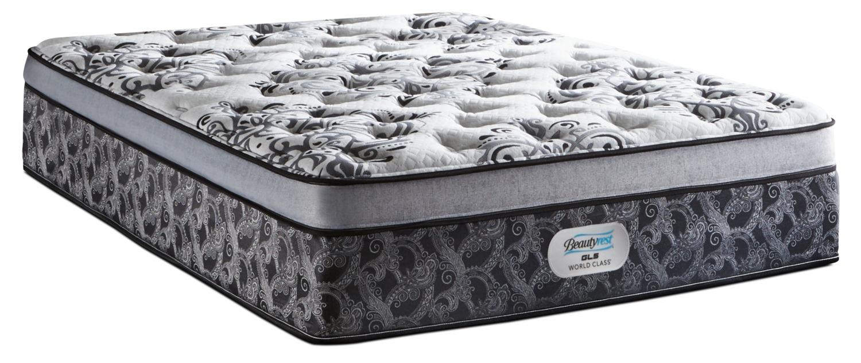 simmons beautyrest gl5 world class genesis firm euro top mattress