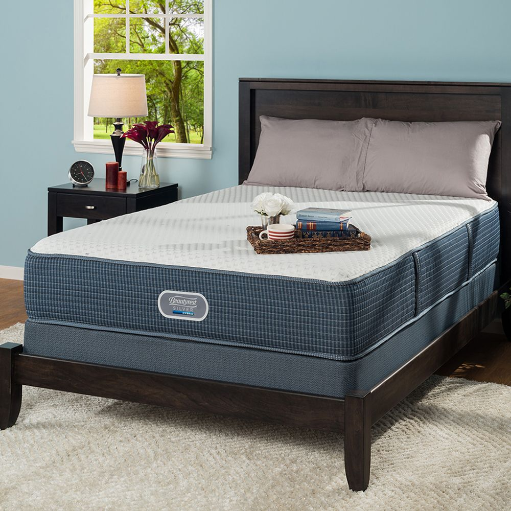 Simmons Beautyrest Silver Hybrid Milles Plush Mattress Reviews Goodbed