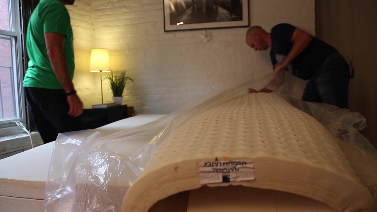 Unpacking the Spindle Mattress