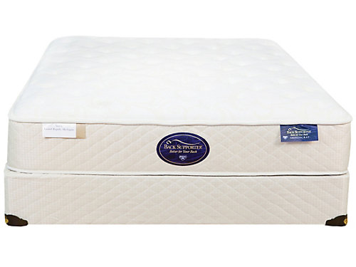Spring Air Back Supporter Latex Hybrid Aristocrat Firm Mattress Reviews Goodbed