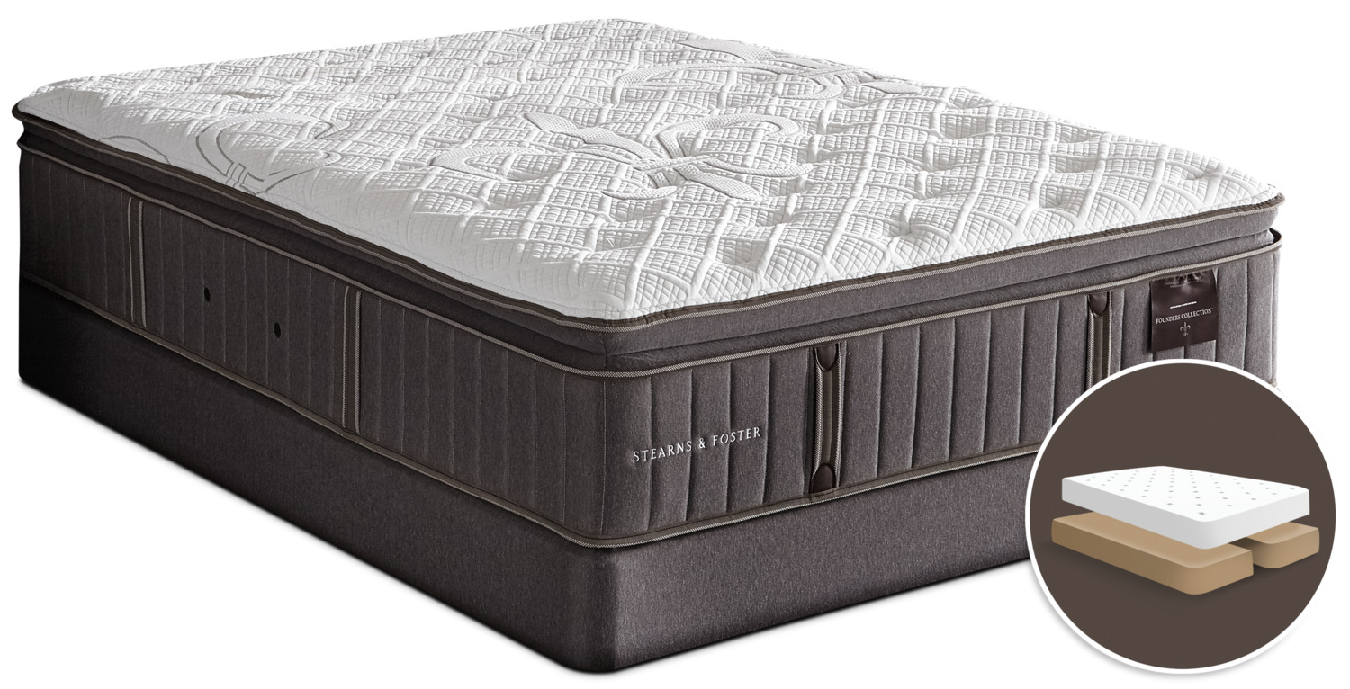 Stearns And Foster Reviews >> Stearns Foster Founders Albert Park Firm Pillowtop