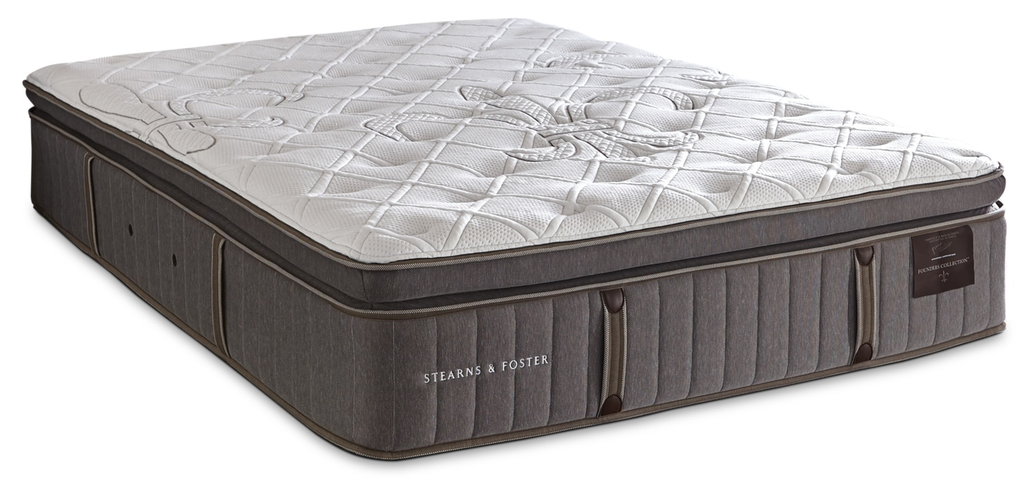 Stearns And Foster Reviews >> Stearns Foster Eastminster Pillowtop
