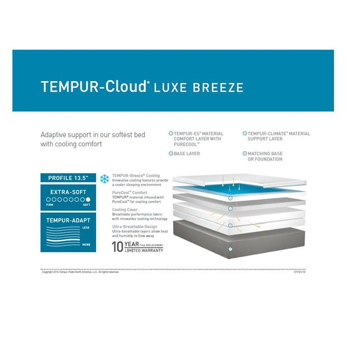 tempurcloud luxe breeze