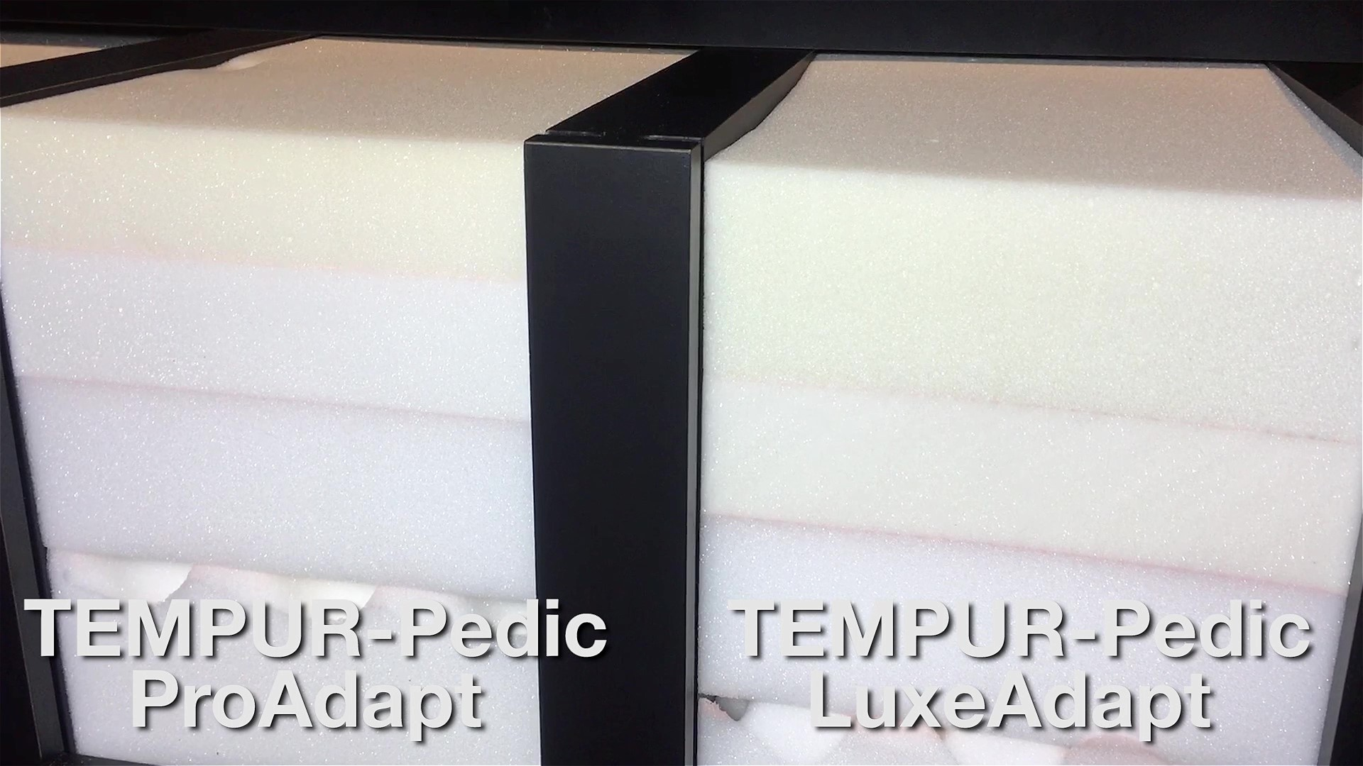 Tempur-ProAdapt and LuxeAdapt layers